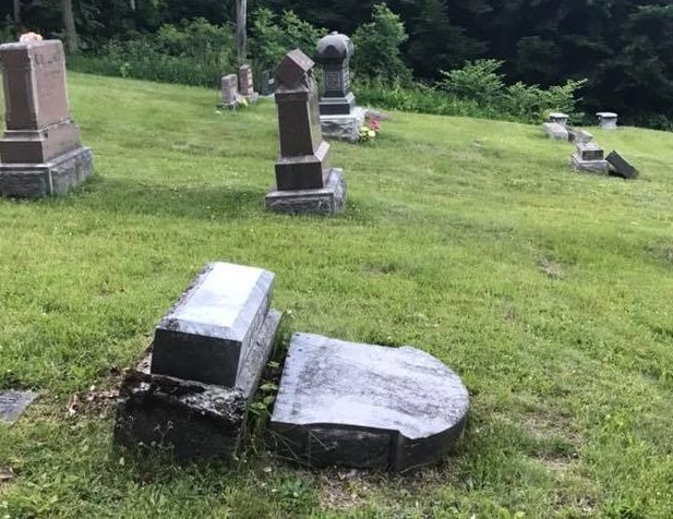 Suspects in Glenwood Cemetery vandalism charged