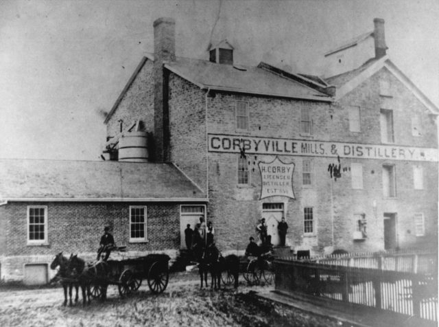 Marking the Corby family's history