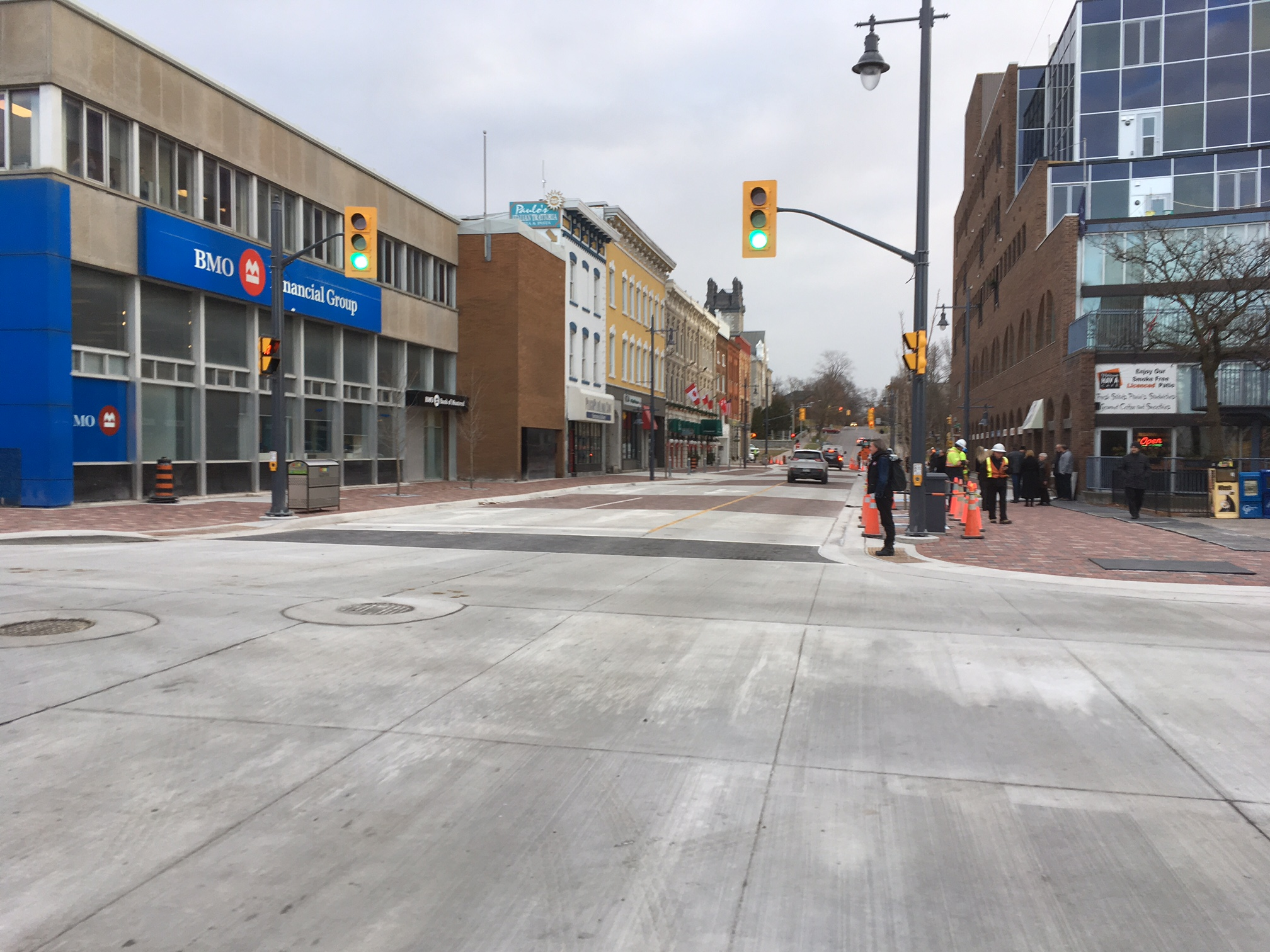 Improving business facades in Belleville's downtown