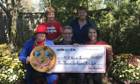 Smile cookies make for sweet success for PECMH