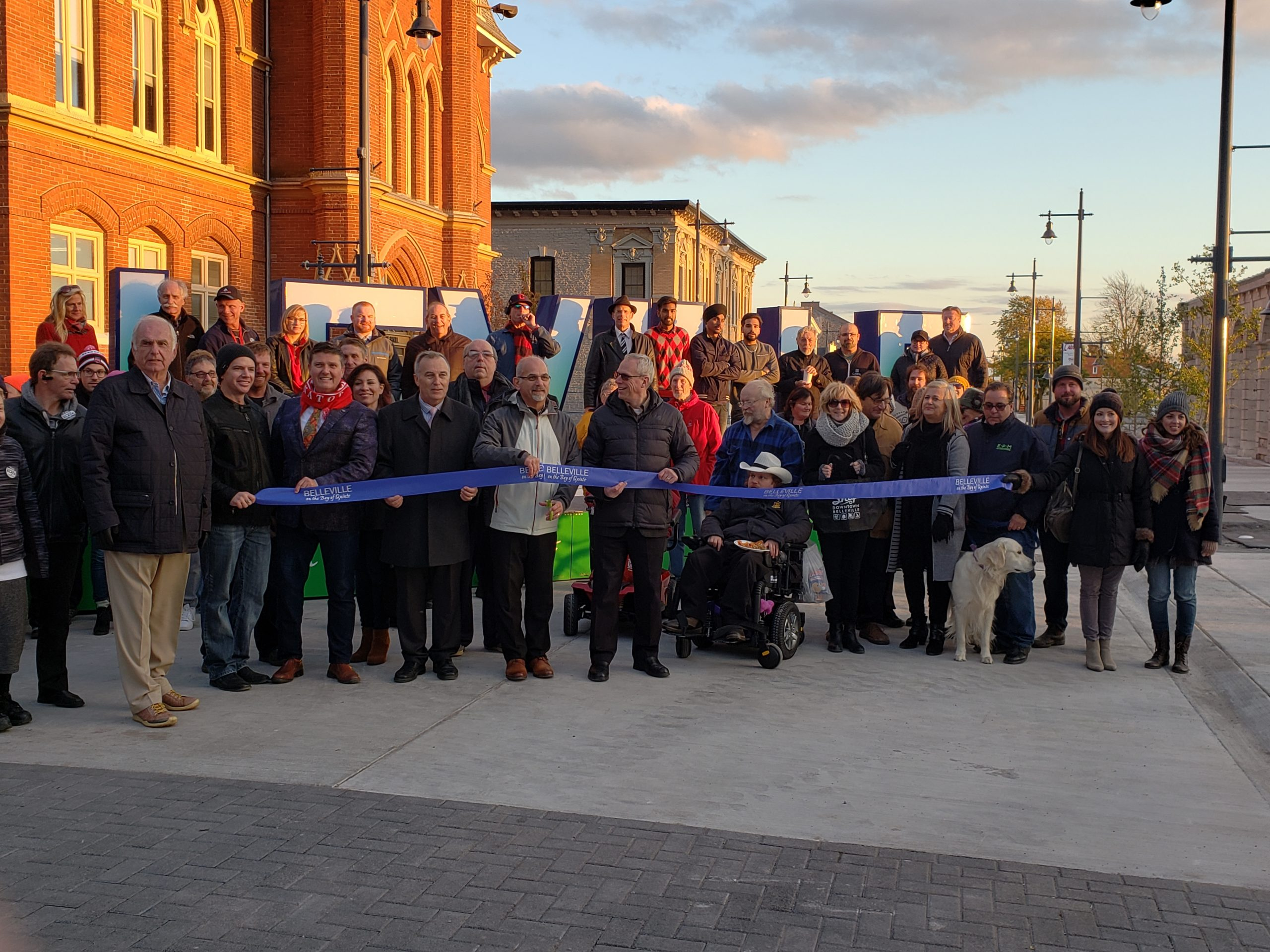 Downtown Belleville officially reopened for business