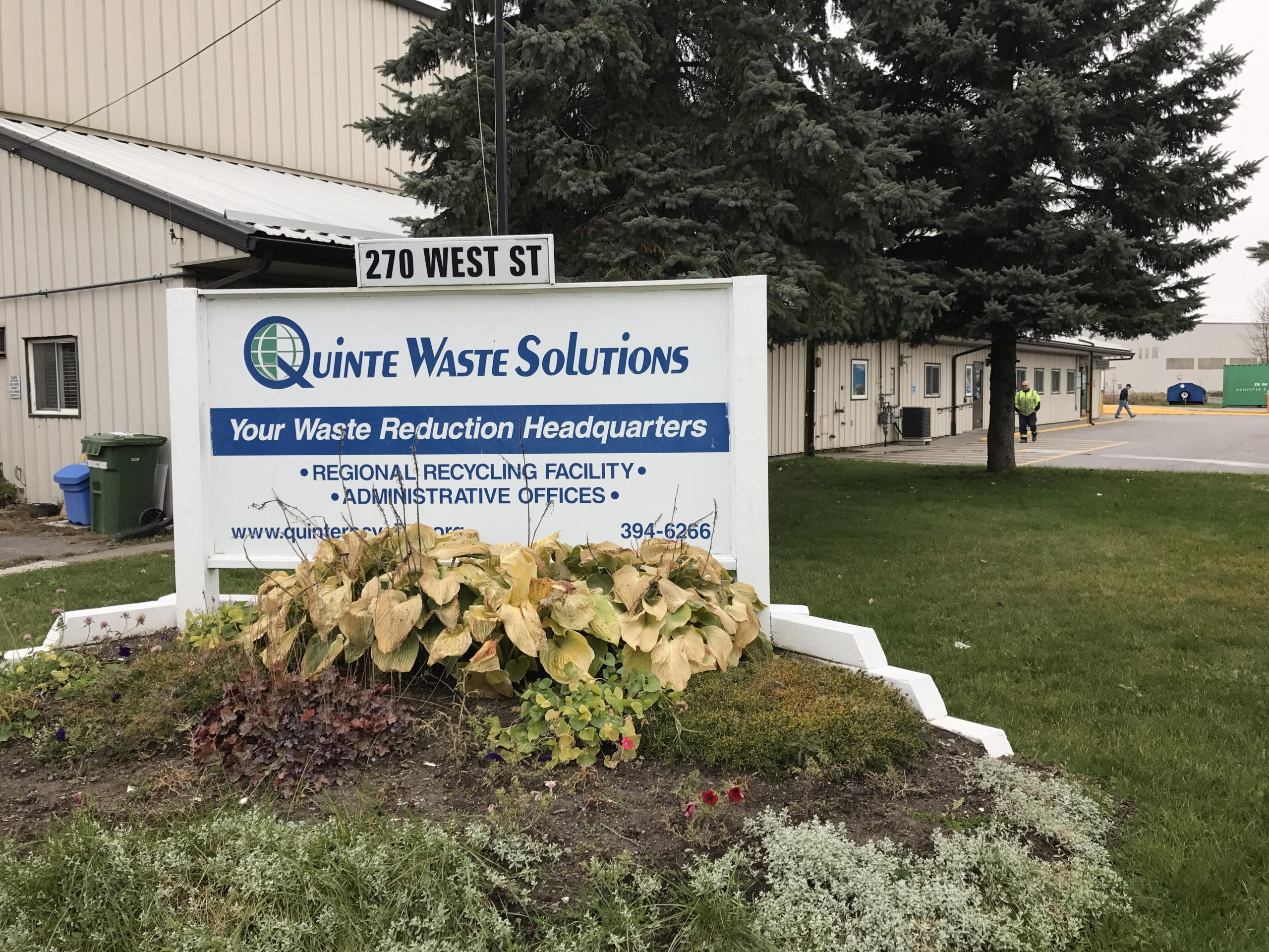 Small blaze at Quinte Waste Solutions