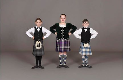 Two Astounding Heights Highland dancers place in the top 10 at National competition