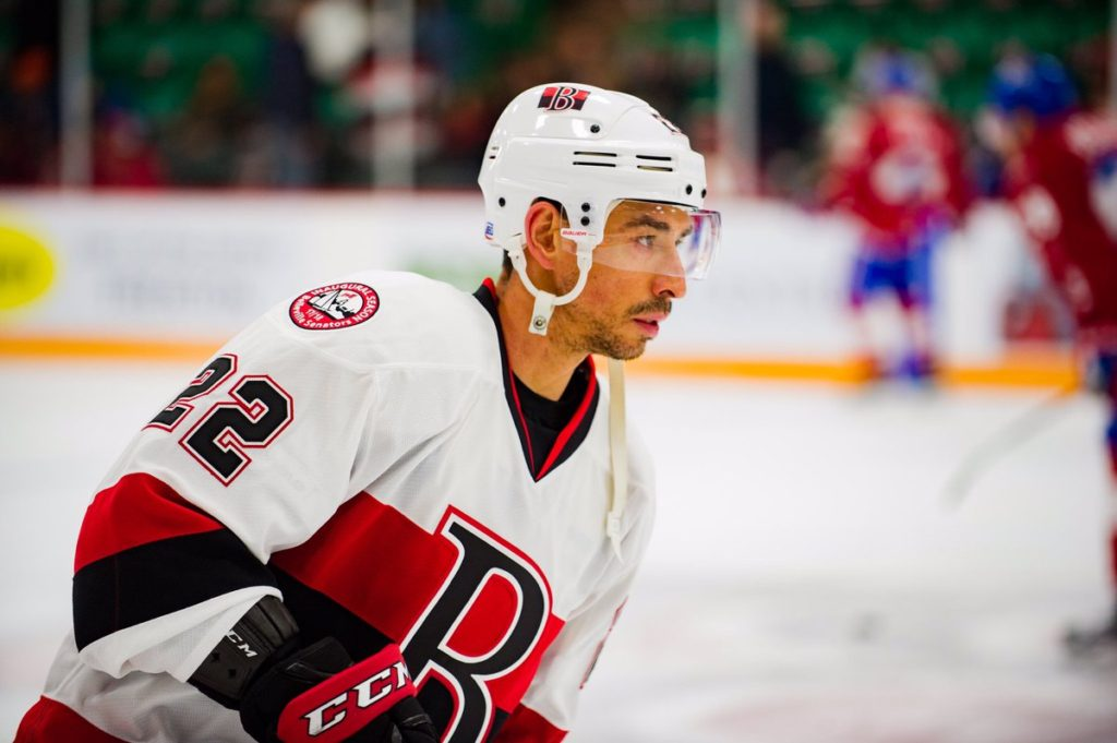 Former B-Sen back with Sens