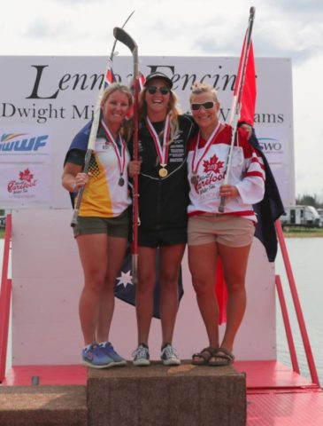 Moynes medals at World Barefoot Championships