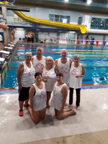 Senior swimmers nab 19 medals at Nationals