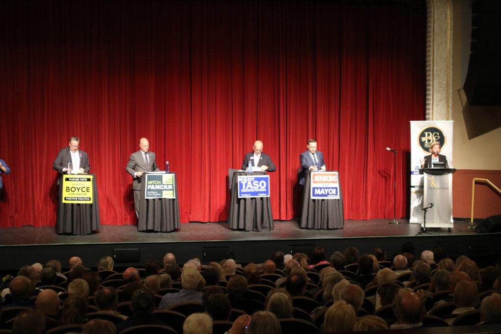 Hundreds attend Belleville Chamber debate