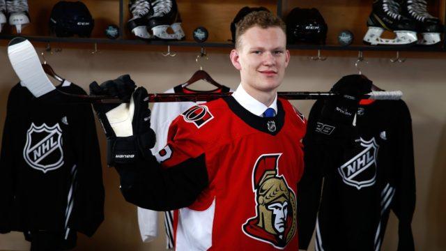 Senators sign Tkachuk to entry-level deal