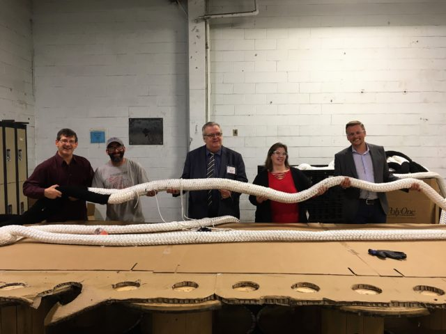 Funding for local rope manufacturer