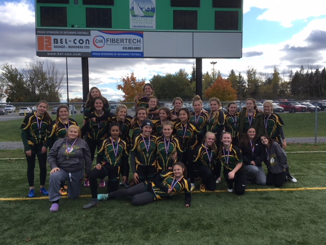 Chargers claim Bay of Quinte Junior Girls rugby title