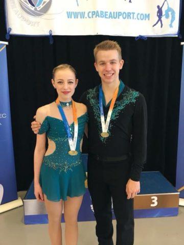 Choinard skates to gold