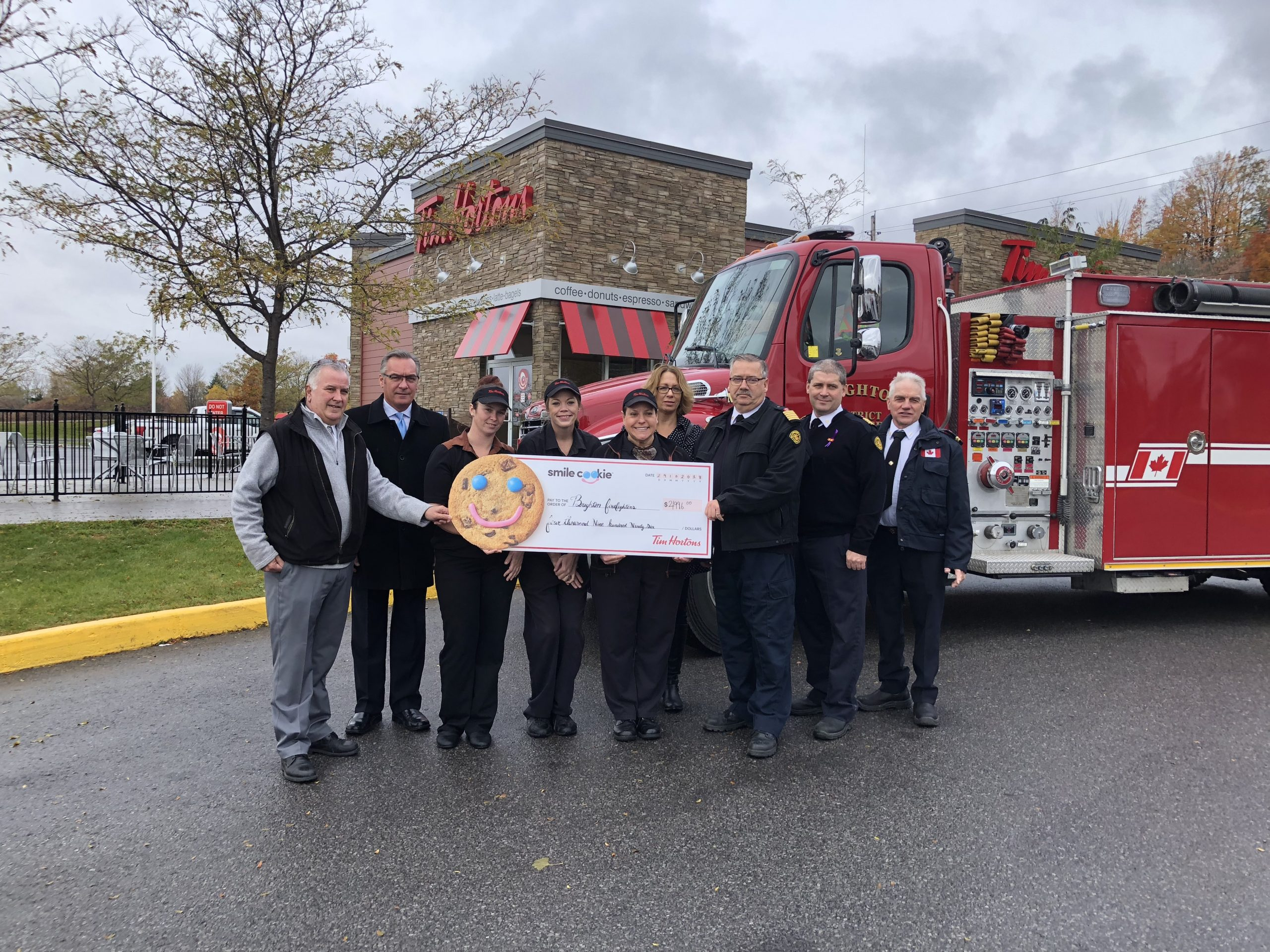 Cookies give 5,000 reasons to smile for BDFD