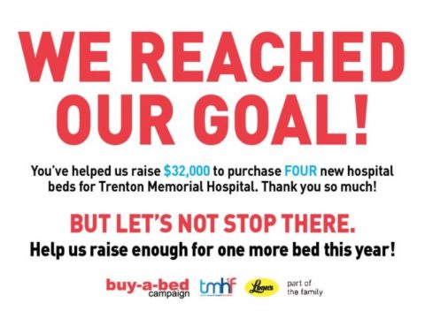 Buy-A-Bed Campaign reaches goal