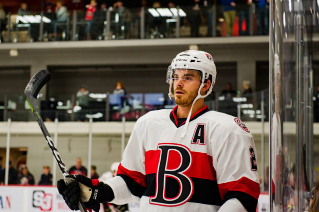 Burgdoerfer to captain B-Sens in 2018/19