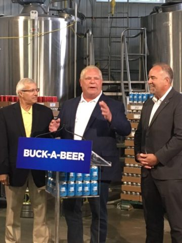 Buck-a-Beer plan unveiled