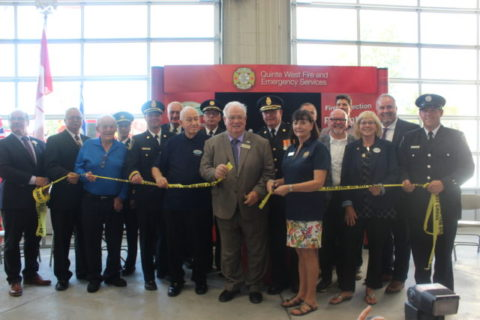 New Quinte West fire headquarters opens
