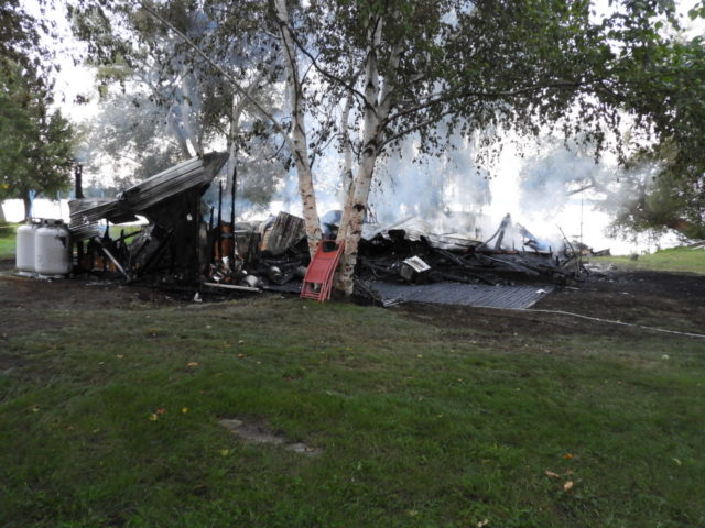 Consecon home destroyed by fire
