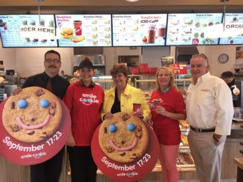 Smile Cookie campaign to support TMHF