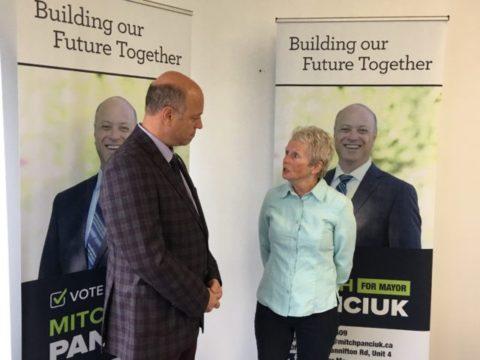 Quinte Labour Council supporting Panciuk