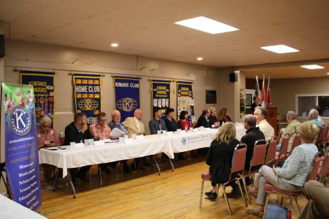 AUDIO: Kiwanis Club hosts Quinte West pre-election discussion