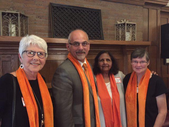 """Belleville goes """"Orange"""" to end gender-based violence"""