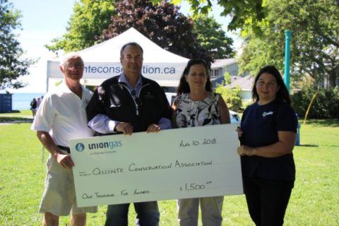Union Gas makes donation to Quinte Conservation