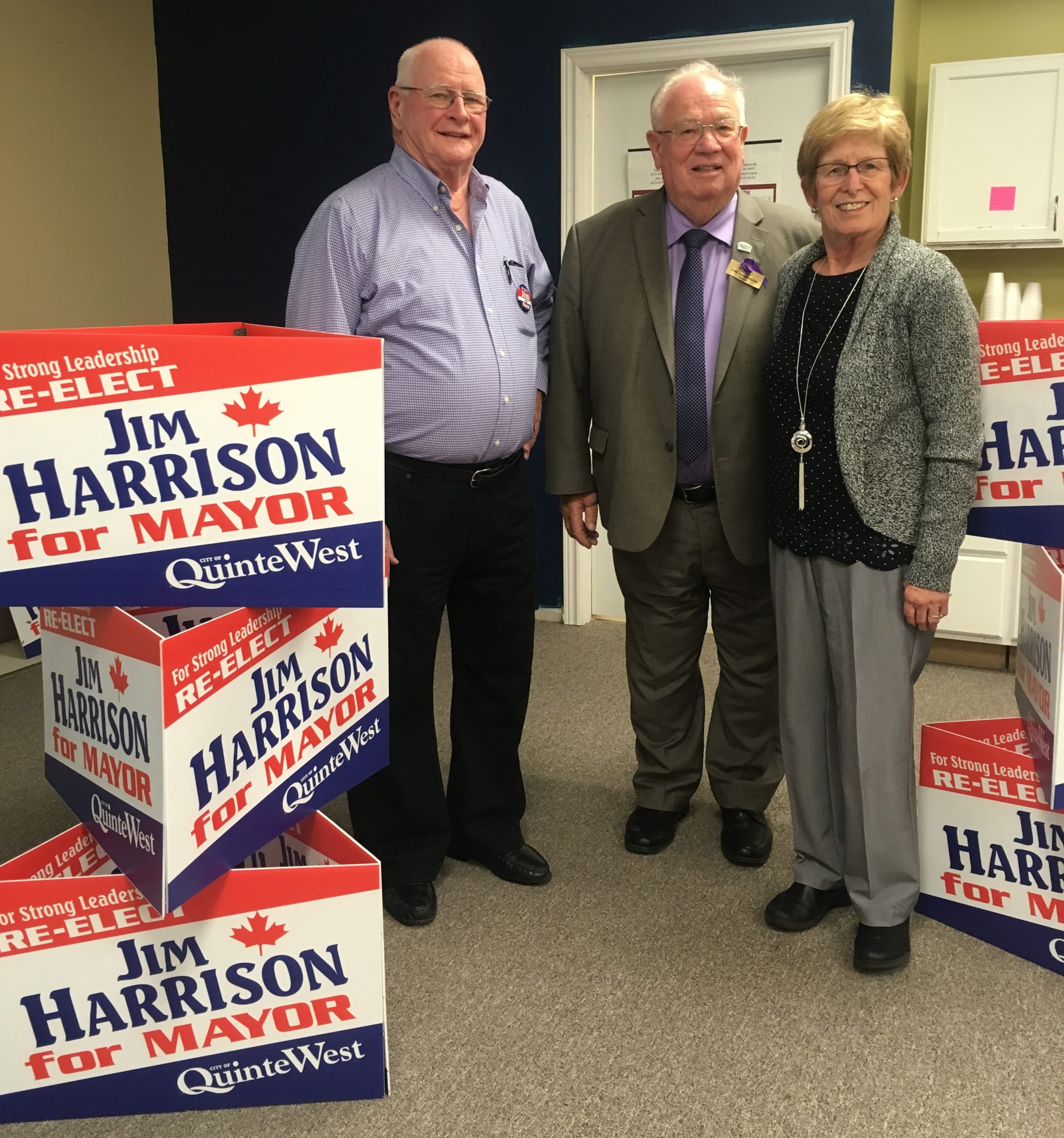 Harrison re-elected in Quinte West