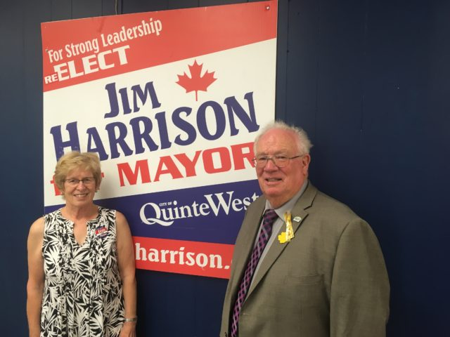 Harrison opens campaign office