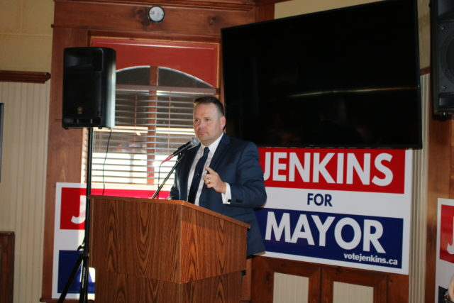Jenkins ready for mayoral joust