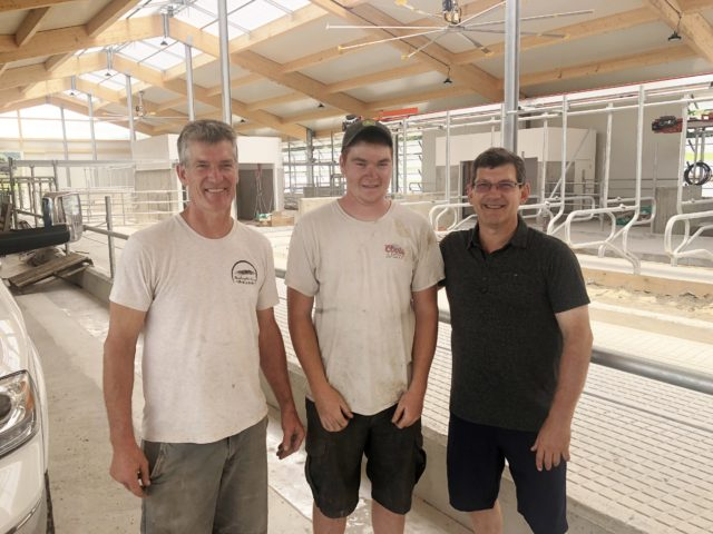 Bossio brings funding to local dairy farmers