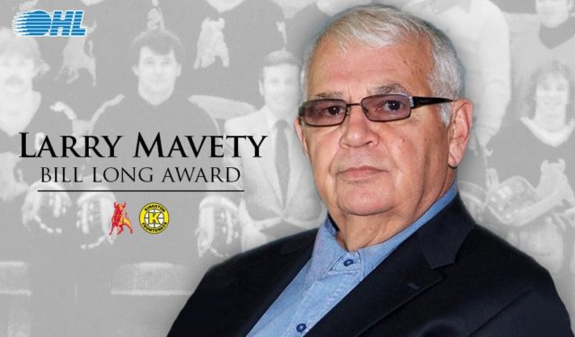 """Mav"" honoured by OHL for outstanding contributions"