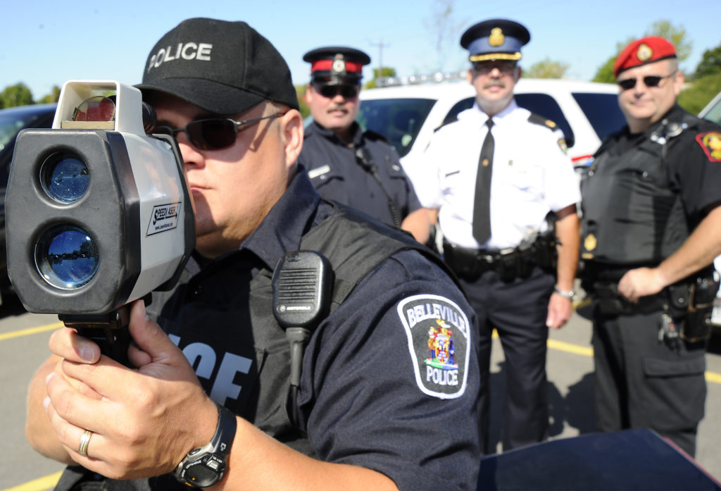 Belleville Police release joint blitz and monthly traffic stats