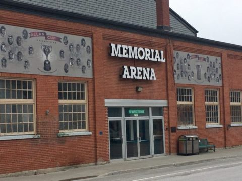 Clarifying historical aspects of Memorial Arena