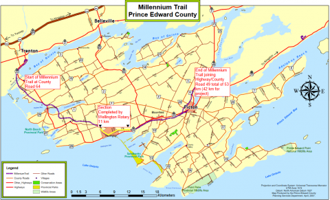 Prince Edward County to take another look at Millennium Trail Rehabilitation project