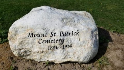 Honouring Mount St. Patrick Cemetery