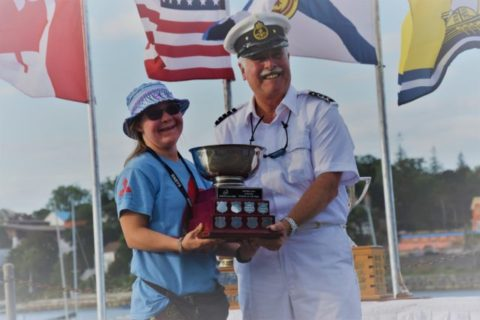 Flynn sails to the podium in Halifax