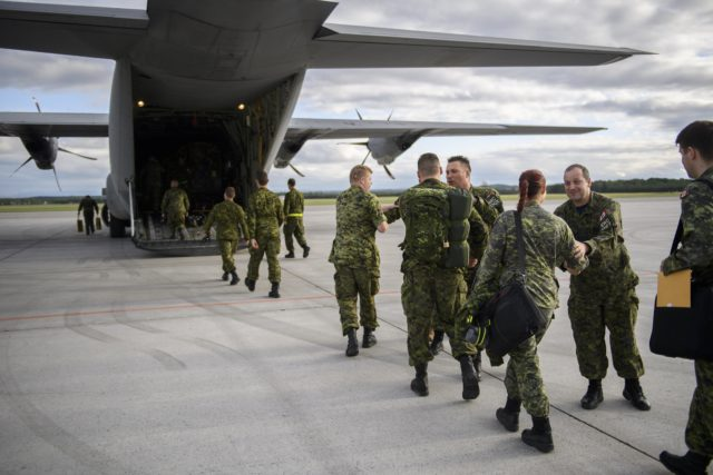 8 Wing providing transport support in fight against BC wildfires