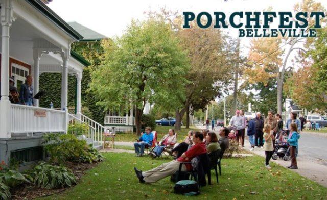 Porchfest weekend in Belleville