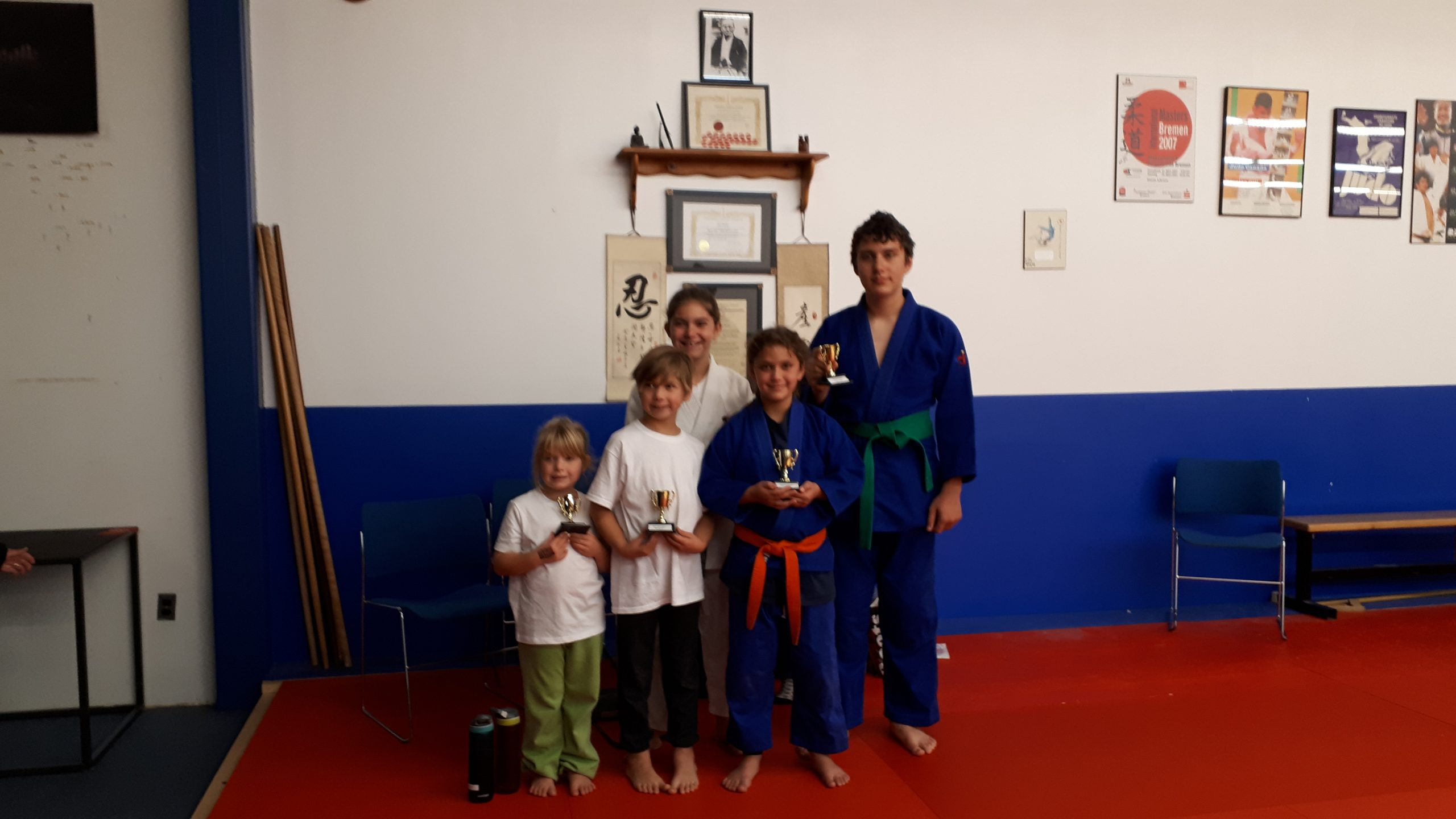 Quinte Judo athletes earn awards