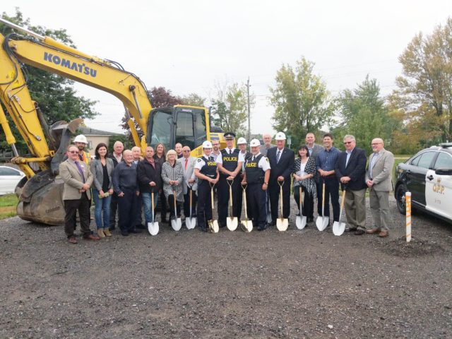 New OPP station breaks ground in Quinte West