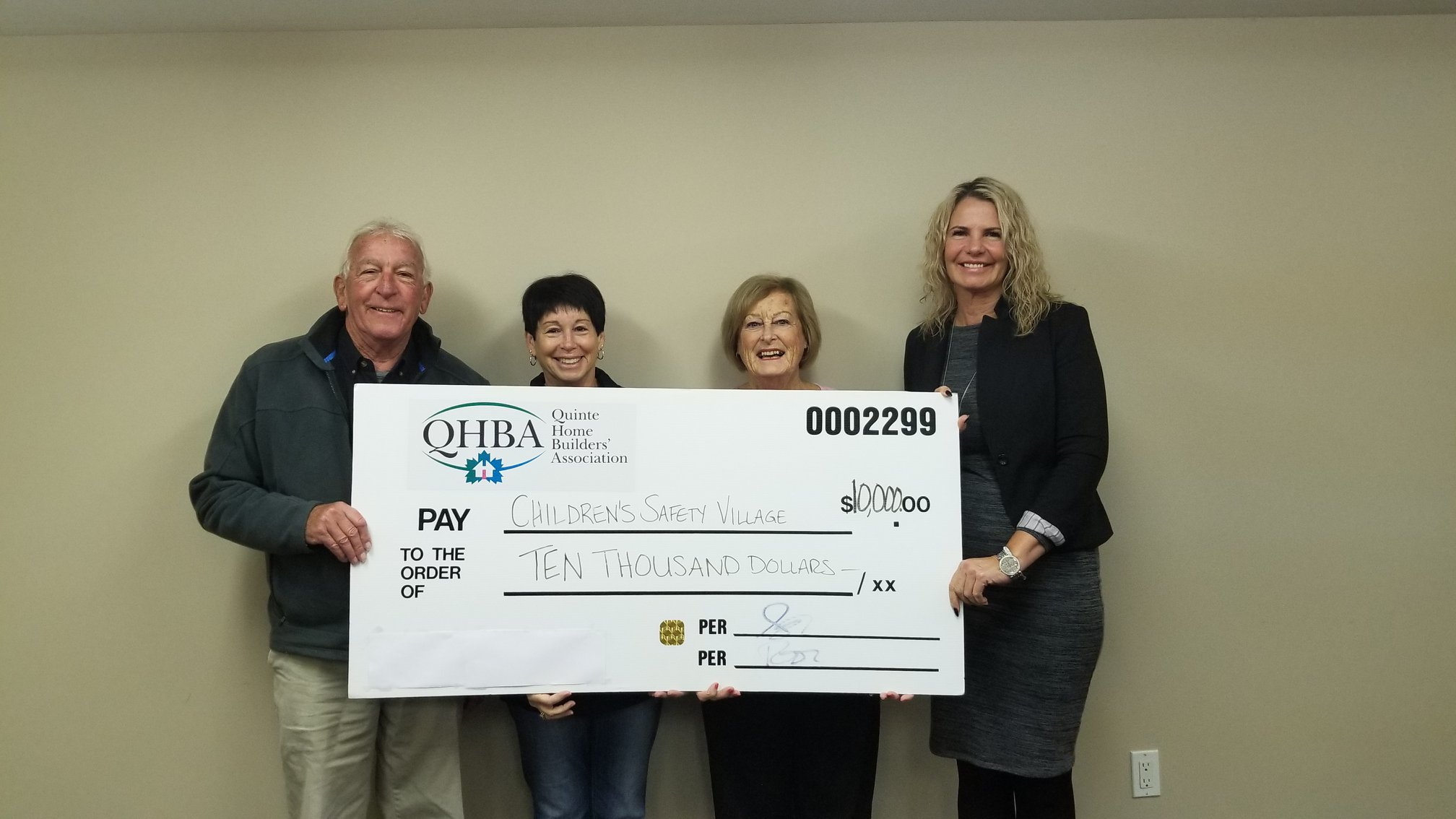 Donation helps keeps kids safe