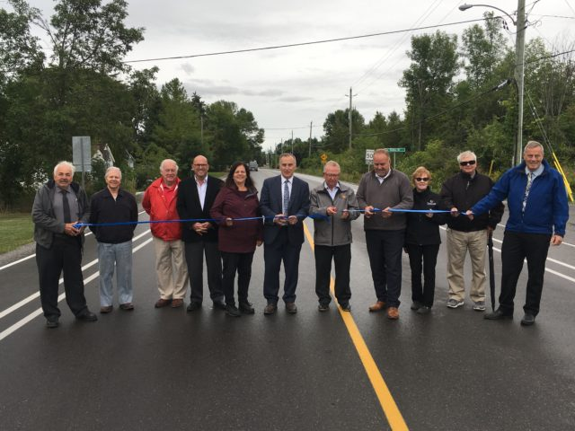 Rednersville Road officially opened