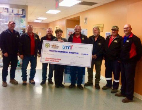 Local road supervisors help hospitals