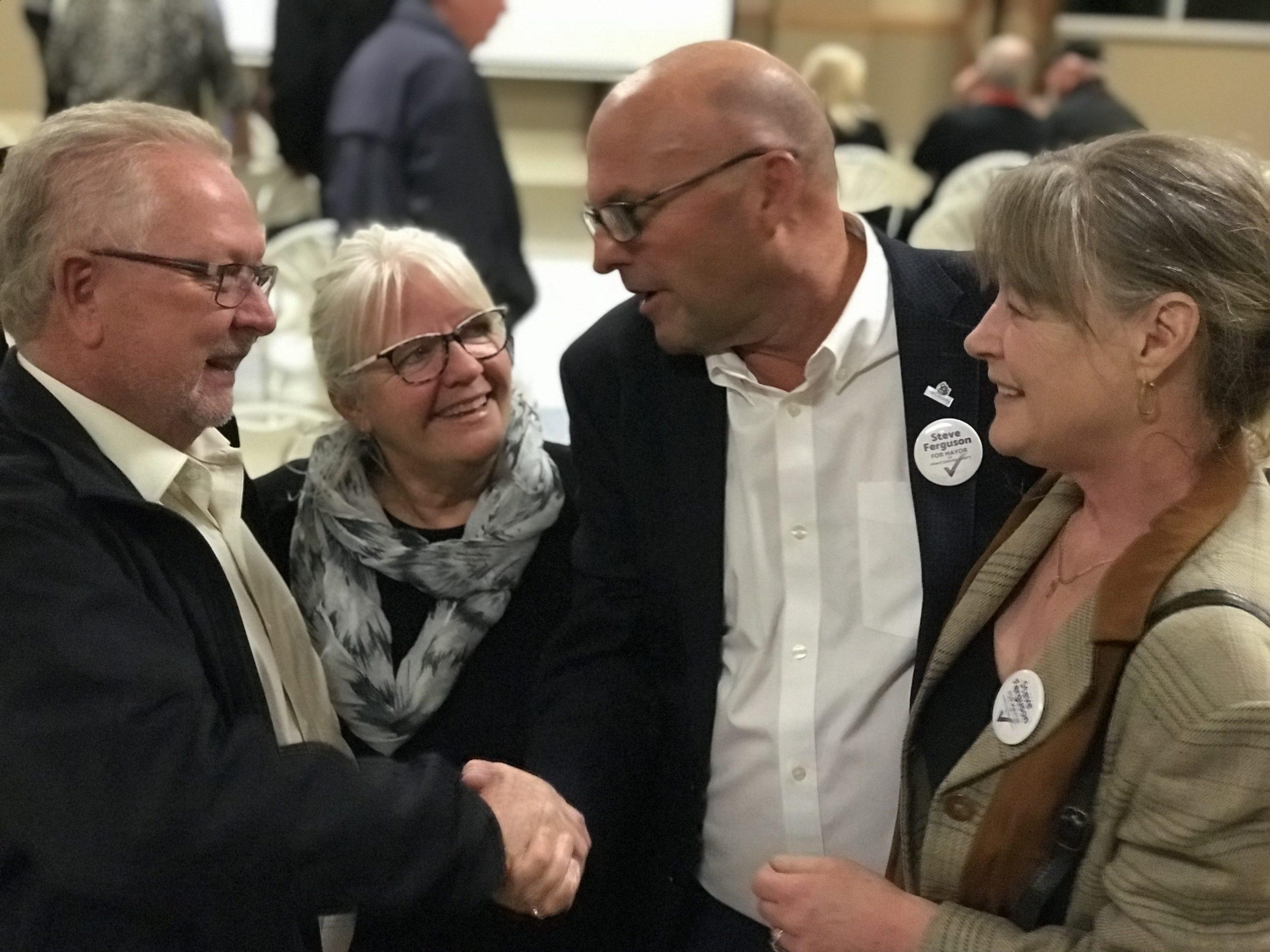 Steve Ferguson new mayor for The County