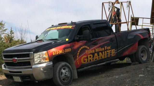 Stolen truck in Belleville