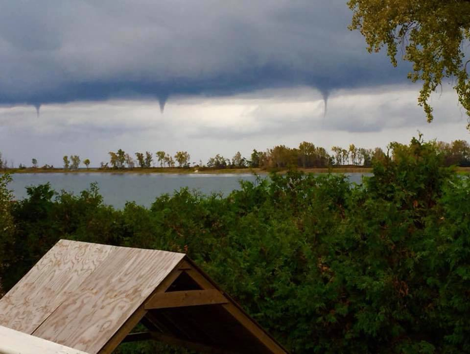 Waterspouts spotted in Prince Edward County