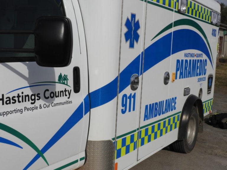 401 crash in Belleville