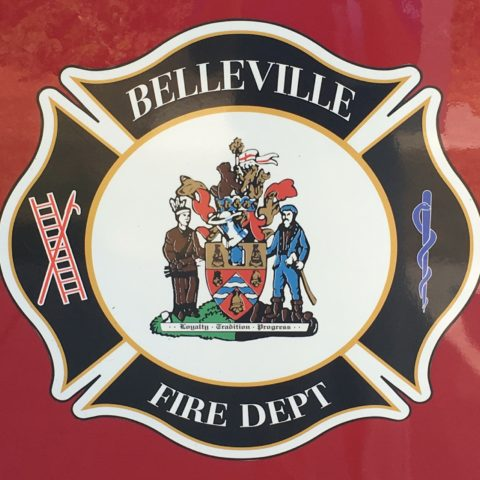 House fire in Belleville