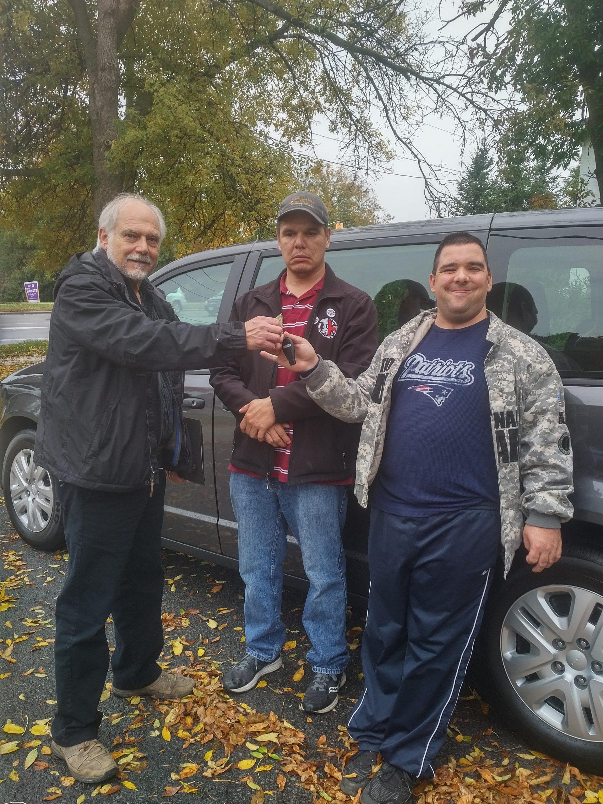 CLBA purchases new van