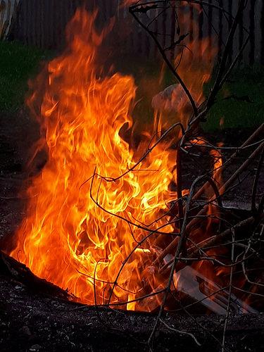 House fire in Trenton